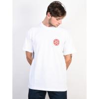 Element BRIAN GABERMAN OPTIC WHITE pánské tričko s krátkým rukávem - XL