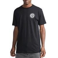 RVCA TIGRE black pánské tričko s krátkým rukávem - XL