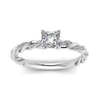 OLIVIE Stříbrný prsten AMORE 4231 Velikost prstenů: 6 (EU: 51 - 53)