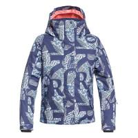 Roxy JETTY GIRL CROWN BLUE FREESPACE GIRL dětská zimní bunda - 8/S