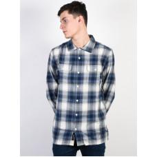 Vans TREMONT MARSHMALLOW/DRESS/BLUES pánská košile dlouhý rukáv - XL