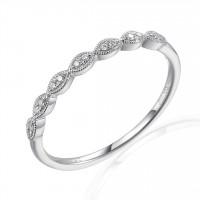 Couple Zlatý dámský prsten Heather 3862423 Velikost prstenu: 55