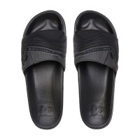 Dc WILLIAMS SLIDE BLACK/GREY pánské pantofle - 48EUR