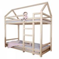 Dětská patrová postel FREYA 90x200 přírodní - TempoKondela