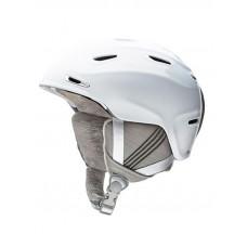 Smith ARRIVAL white přilba na snowboard - 55/59