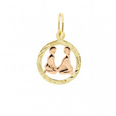 Zlato Zlatý přívěsek znamení zvěrokruhu 3220061 Znamení zvěrokruhu: Blíženci