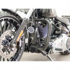 padací rám Fehling Harley Davidson Breakout (FXSB) 2013-2017 hranatý černý - Fehling Ernest GmbH a Co. 6189DGXH