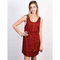 Element SKY RED DALHIA společenské šaty krátké - M