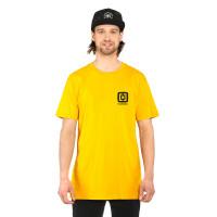 Horsefeathers MINI LOGO CITRUS pánské tričko s krátkým rukávem - XXL