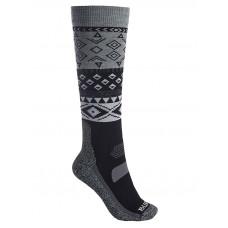 Burton PERFORMANCE LTW TRUE BLACK kompresní ponožky - S\M