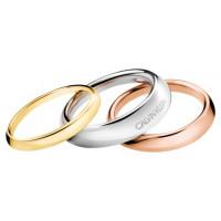 Prsten Calvin Klein Groovy KJ8QDR3001 Velikost prstenu: 57