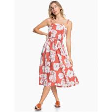 Roxy NOWHERE TO HIDE MARSALA ISHA luxusní plesové šaty dlouhé - XS