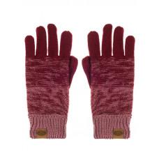 Animal PILA BORDEAUX RED dámské prstové rukavice