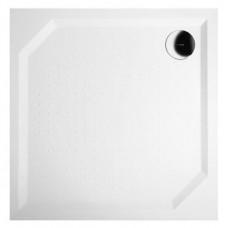 GELCO - ANETA80 sprchová vanička z litého mramoru, čtverec 80x80x4cm (GA008)