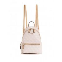 GUESS batoh Leeza Small Backpack růžový vel.
