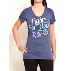 Vehicle BUGSY blue dámské tričko s krátkým rukávem - M