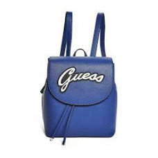 GUESS batoh Varsity Pop Pin-Up Backpack modrý vel.