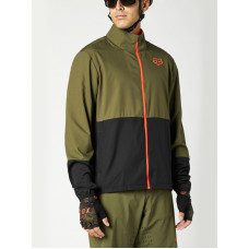 Fox Ranger Olive Green cyklistická bunda - M