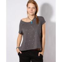 Volcom FUNDAY GIRL CHARCOAL dámské tričko s krátkým rukávem - XS