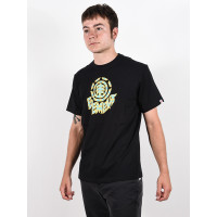 Element REMUS FLINT BLACK pánské tričko s krátkým rukávem - S