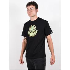 Element REMUS FLINT BLACK pánské tričko s krátkým rukávem - L