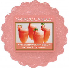 Yankee Candle Vonný vosk White Strawberry Bellini 22g