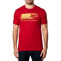 Fox Drifter chilli pánské tričko s krátkým rukávem - XL
