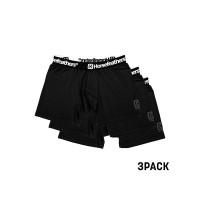 Horsefeathers DYNASTY 3PK black pánské boxerky - L