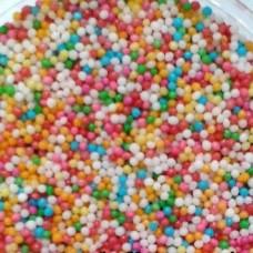Cukrové zdobení - Rýže dekorační barevná 50gCukrové zdobení - Perličky dekorační barevné, máček 60g