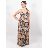 Rip Curl SUNSETTERS MAXI dark blue luxusní plesové šaty dlouhé - S