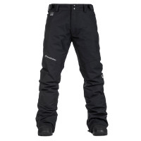 Horsefeathers SPIRE black pánské softshellové lyžařské kalhoty - XXL