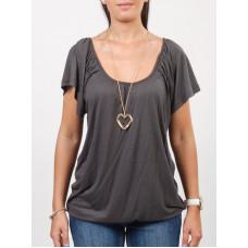 Ezekiel FIONA HEATHER GRAY dámské tričko s krátkým rukávem - XS