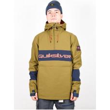 Quiksilver STEEZE Military Olive zimní bunda pánská - XL