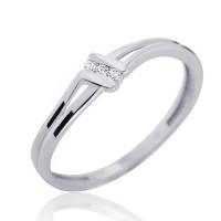 Couple Zlatý dámský prsten Lotte 4565046 Velikost prstenu: 51