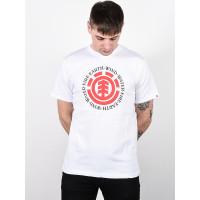 Element SEAL OPTIC WHITE pánské tričko s krátkým rukávem - L