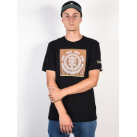 Element DUNES ICON FLINT BLACK pánské tričko s krátkým rukávem - L