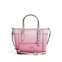 GUESS kabelka Delaney Ombre Mini růžová vel.