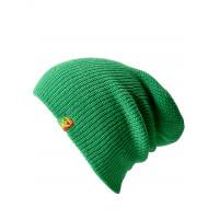 Line Soul green pánská háčkovaná čepice