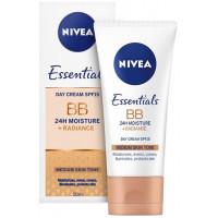 Nivea BB Cream zkrášlující hydratační krém 5v1 tmavý tón pleti 50 ml