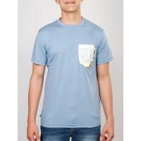Etnies REIY PACIFIC BLUE pánské tričko s krátkým rukávem - L
