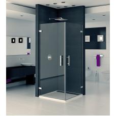SanSwiss PUE1D 0900 10 07 Pravý díl sprchového koutu 90 cm, chrom/sklo PUE1DSM11007