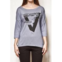 Vehicle ATLAS blue dámské tričko s dlouhým rukávem - L