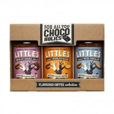 Littles Dárkové balení Instantní kávy Chocoholics 3x50g