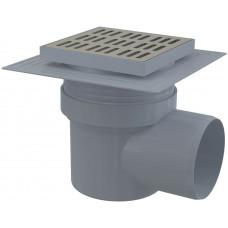 Alcaplast Podlahová vpusť 150x150/110 boční nerez (APV12)