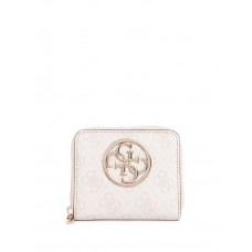 GUESS peněženka Bluebelle Logo Small Zip-around Wallet blush vel.