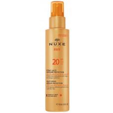 Nuxe Sun Milky Spray SPF 20 150ml
