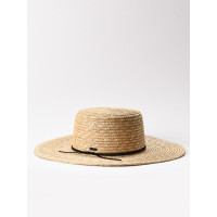 RVCA PENNY STRAW SAND dámský slaměný klobouk