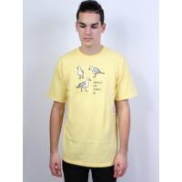 Neff SEAGULLS ARE JERKS B n pánské tričko s krátkým rukávem - M