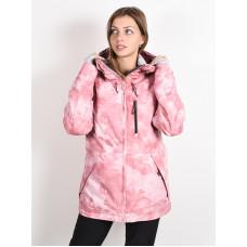 Roxy PRESENCE SILVER PINK TIE DYE zimní bunda dámská - M