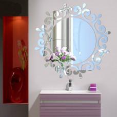 Samolepicí zrcadlo kulaté - 2 barvy Barva: Stříbrná